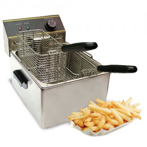 6L Countertop Electric Deep Fryer