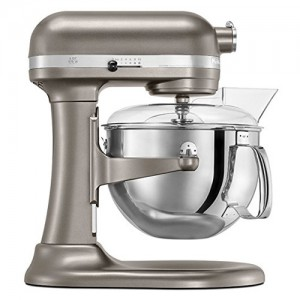 6 QT. Nickel Pearl Professional 600 Series Bowl-Lift Stand Mixer