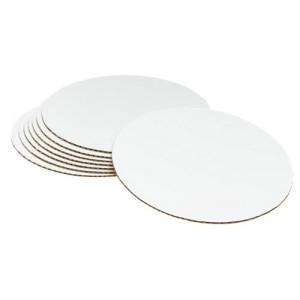"8-Pack 12"" Cake Board Circles"