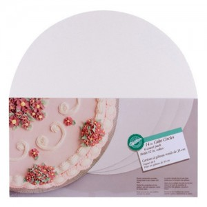 "6-Pack 14"" Cake Board Circles"