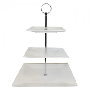 Royal Classic 3-Tier Dessert Plate