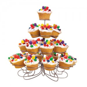 23-Cavity Cupcake and Dessert Stand