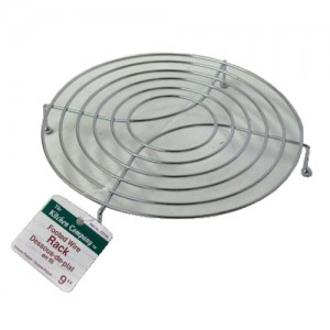 "9"" Round Footed Wire Rack"
