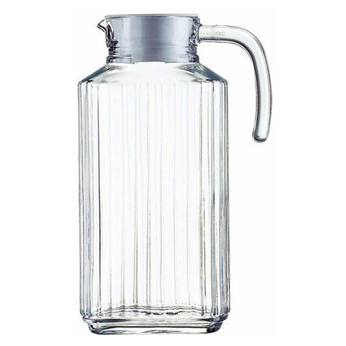 57 oz. Quadro Glass Pitcher