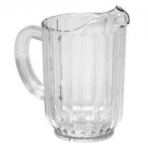 Johnson Rose Plastic Pitcher