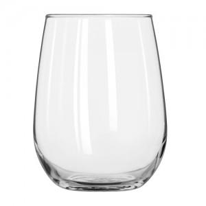 17 oz. Stemless White Wine Glass