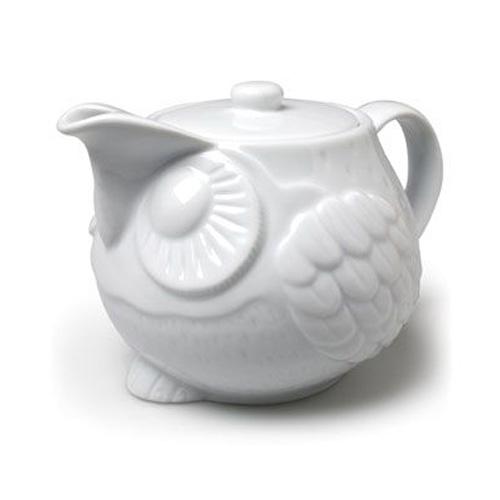 24 oz. Owl Teapot
