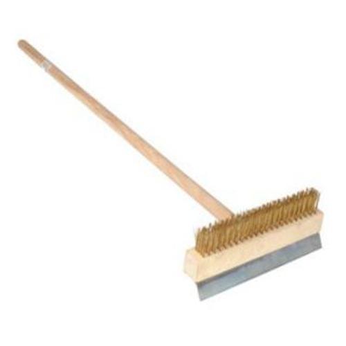 """10"""" Wire Brush with Scraper"""