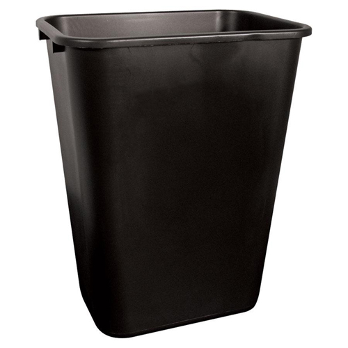 41 QT. Plastic Trash Can
