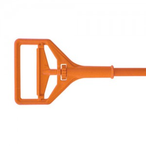 Orange Plastic Mop Handle