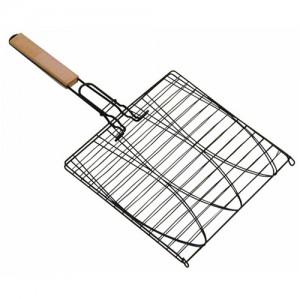 """11x11"""" Triple Fish Grill Basket"""