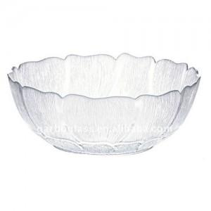 Glass Fleur Bowl
