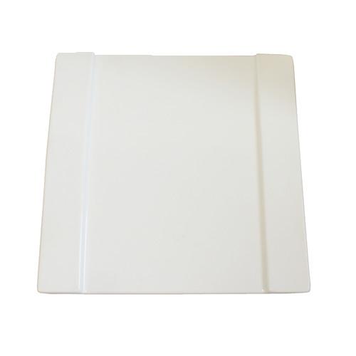 "Royal Classic 8"" Double Rim Square Plate"