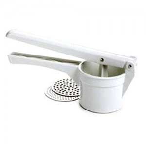 White Plastic Potato Ricer