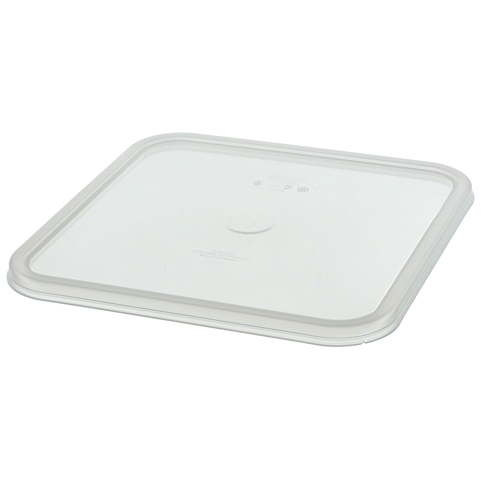 Cambro Square Clear Seal Lids