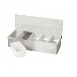 Bar Caddy with 4 Inserts