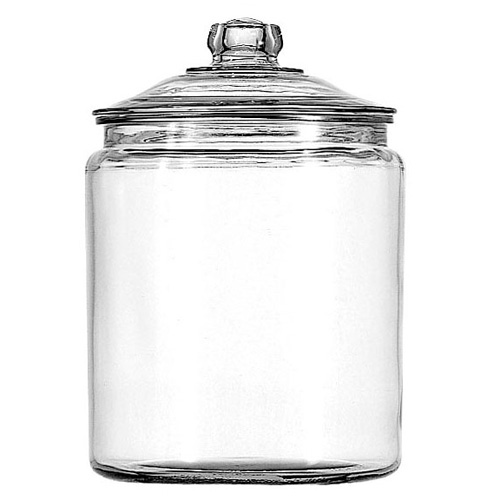 Heritage Hill Glass Jar with Cover