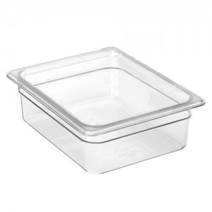 1/2 Size Clear Food Pan