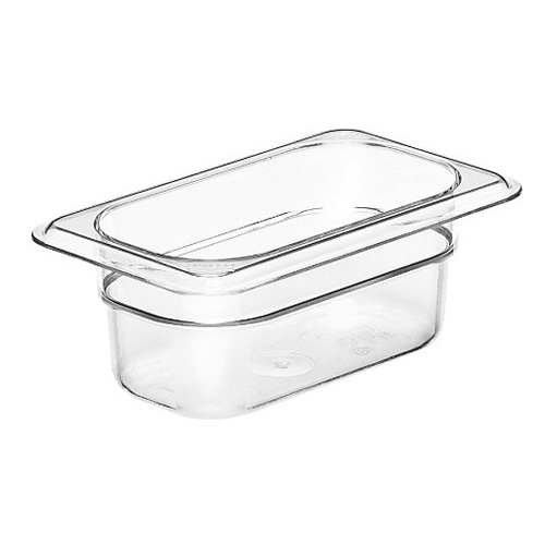 Cambro 1 9 Size Clear Polycarbonate Food Pan Tap Phong