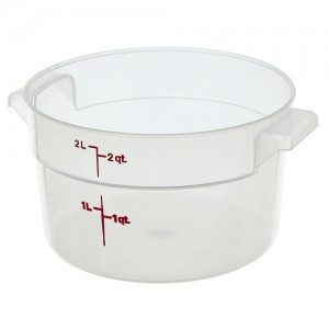 Cambro Translucent Round Food Containers