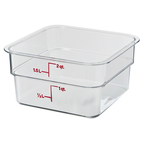 Cambro Square Polycarbonate Food Containers