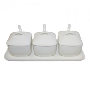 Royal Classic Four Piece Condiment Set