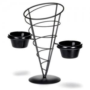 Vertigo Appetizer Cone with Ramekins