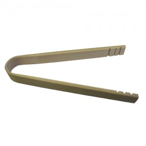 10-Pack 10CM Bamboo Tongs