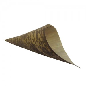 100-Pack 10x4CM Bamboo Sheath Cone