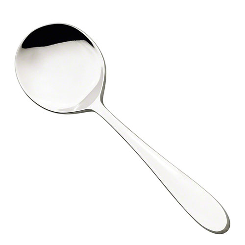 6IN. Eclipse Bouillon Spoon