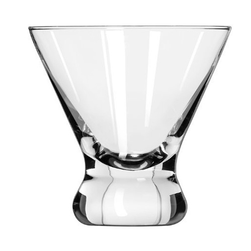 8.25 oz. Stemless Martini Glass