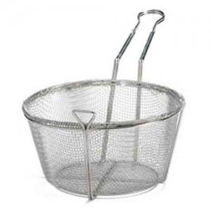 #6 Mesh Round Fry Basket