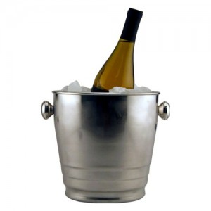 4QT. Heavy Wine Bucket with Rib