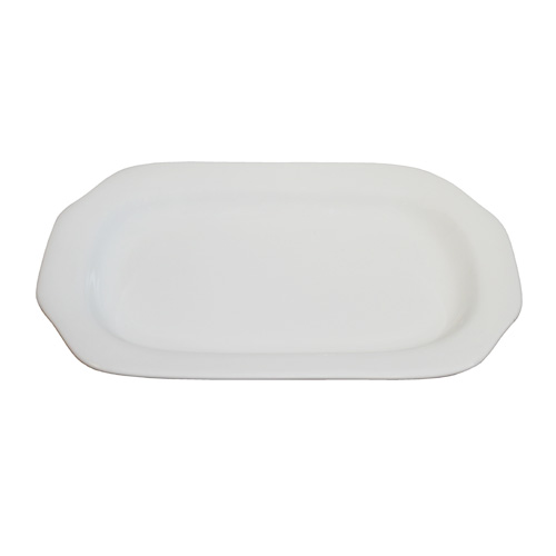"Royal Classic 9.75"" Rectangle Octagon Plate"