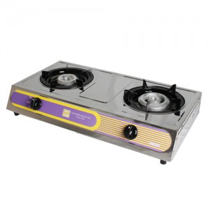 Double Burner Countertop Gas Stove