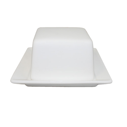 "Royal Classic 4"" Square Butter Dish"