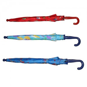 Kid's Umbrella: 3 Assorted Colours