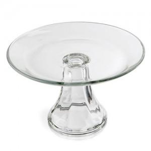 "8"" Presence Glass Cake Stand"