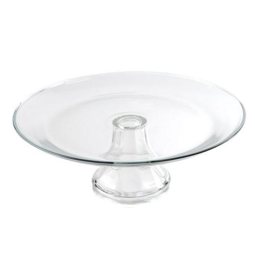 "13"" Presence Glass Cake Stand"