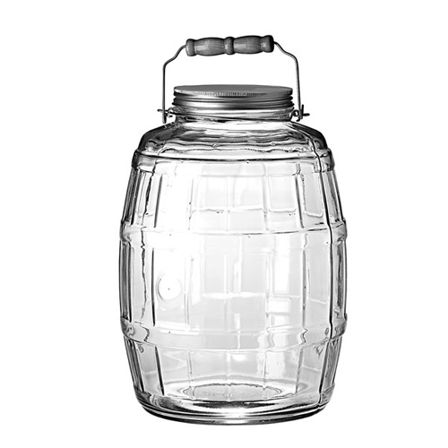2.5GL Glass Barrel Jar