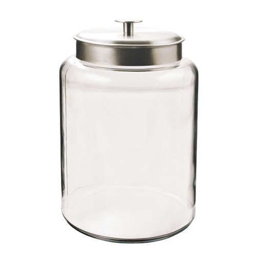2.5GL Montana Glass Jar with Metal Cover