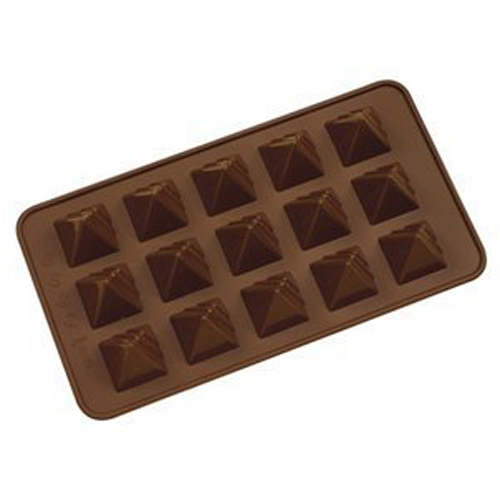 Pyramid Silicone Chocolate Mold