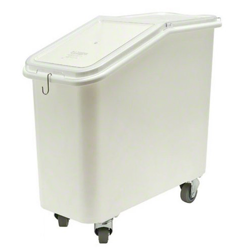 Cambro 27GL Slant Top Ingredient Bin with Casters