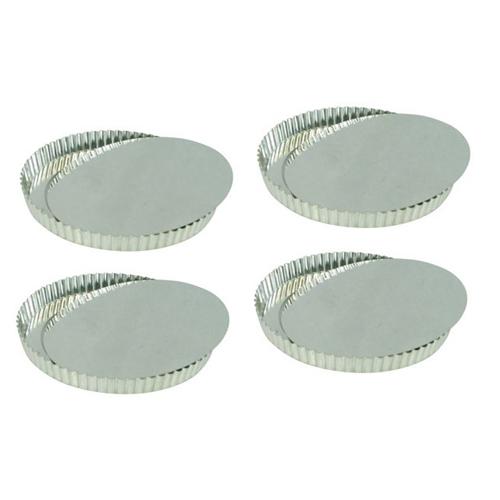 "4-Pack 4"" Tart Pans"