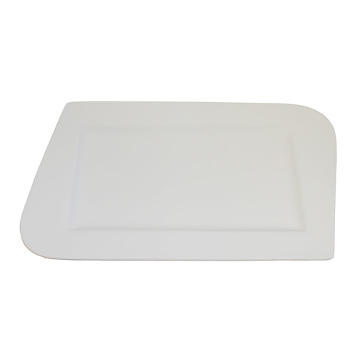 Royal Classic Rectangle Round and Pointed Edge Plate