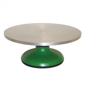 "12"" Revolving Cake Decorating Stand"