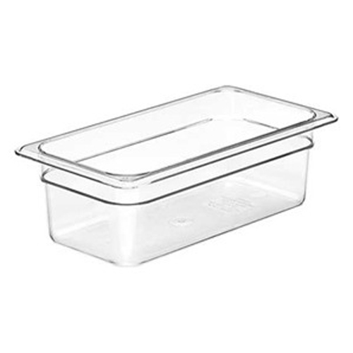 1/3 Size Clear Food Pan