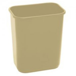 28 QT. Plastic Trash Can