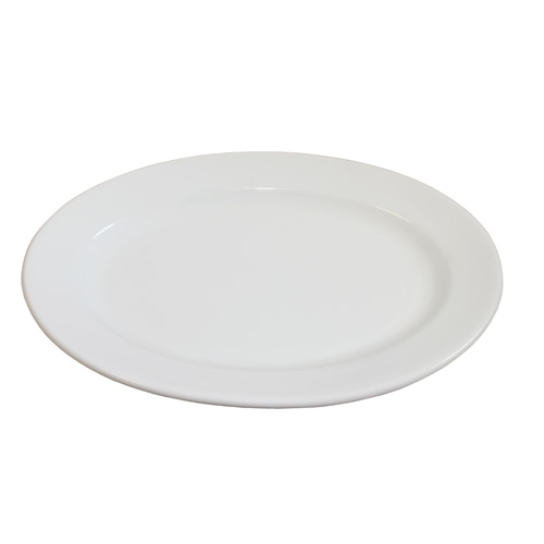 Royal Classic Oval Plate With Rim