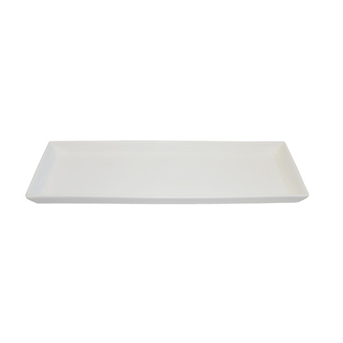 "Royal Classic 13x4.25"" Rectangle Plate With Lip"